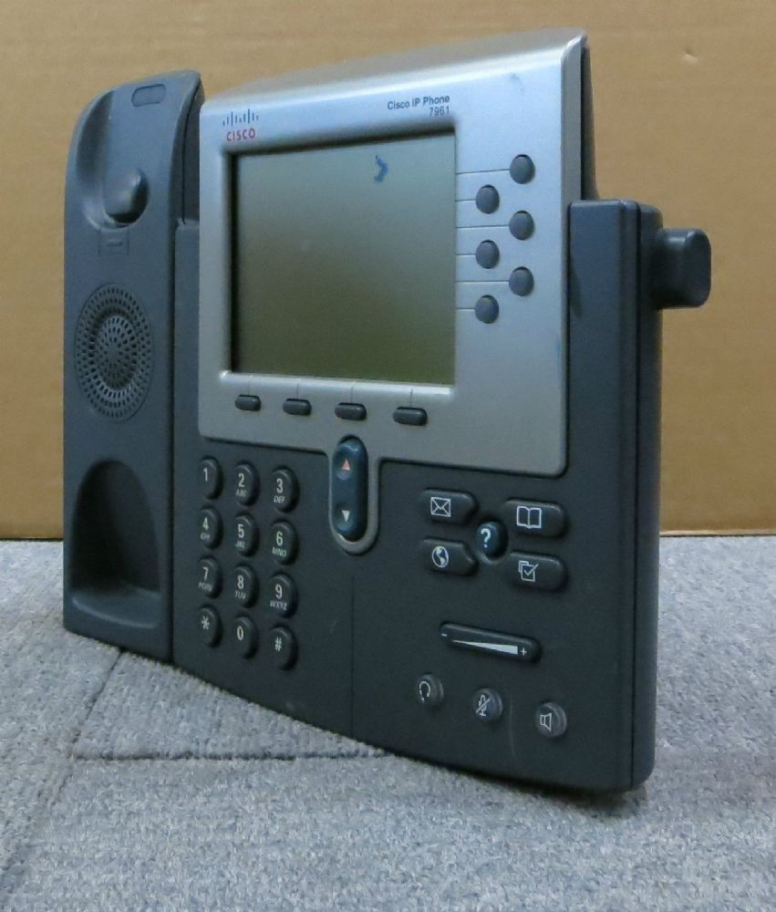 Cisco 7961G CP-7961G VoIP IP Business Desktop Display Telephone Phone NO Stand